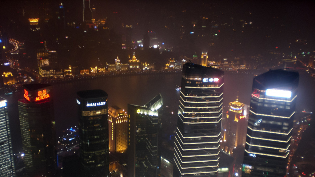 Shanghai at Night - View from the Jinmao Tower
