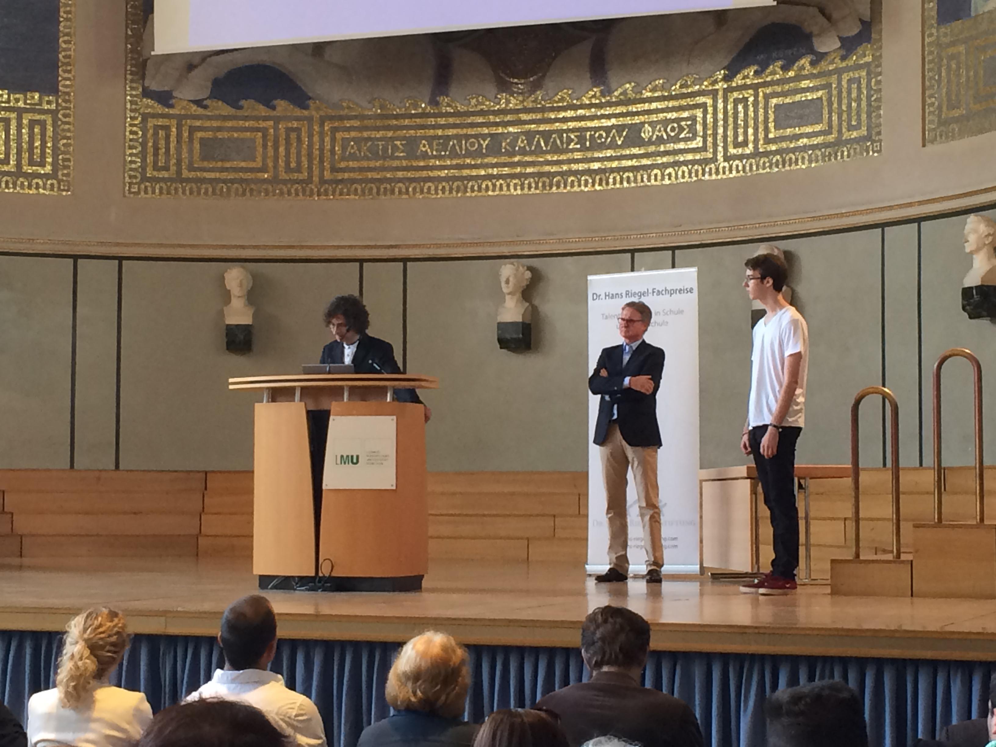 Dr. Hans Riegel-Fachpreis: Hendrik Noeller