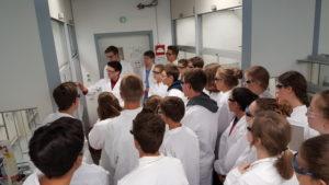 Besuch der Fakultät für Chemie am 13.09.2017