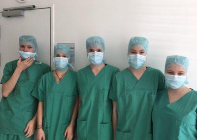 Besuch des Klinikums rechts der Isar am 13.12.2017