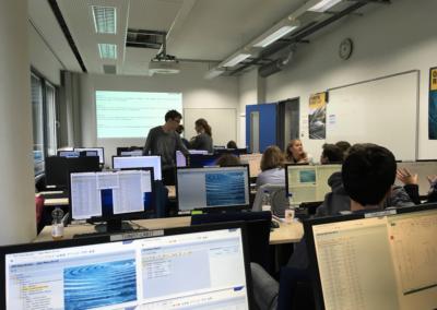 Besuch der Fakultät für Informatik am 29.11.2017