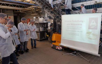 Besuch der Fakultät für Brauerei- und Lebensmitteltechnologie