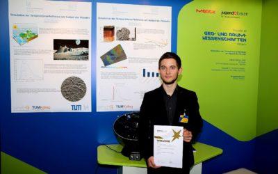 Lukas Rother erfolgreich beim Bundeswettbewerb Jugend forscht!