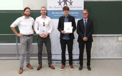 TUMKolleg bei Hans-Riegel-Preis ausgezeichnet!