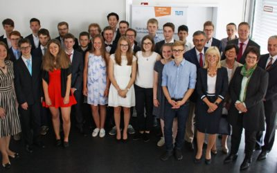 Absolventenfeier des 8. Jahrgangs im TUMKolleg 2016 2018