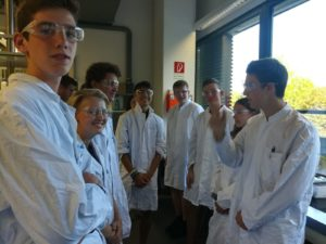 Besuch der Fakultät für Chemie am 12.09.2018