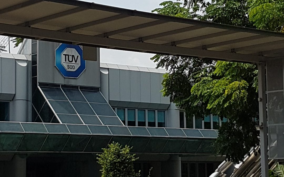 Internship at TÜV SÜD Asia Pacific Pte Ltd – Singapore