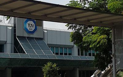 Internship at TÜV SÜD Asia Pacific Pte Ltd – Singapore