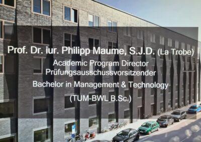 Besuch der TUM School of Management